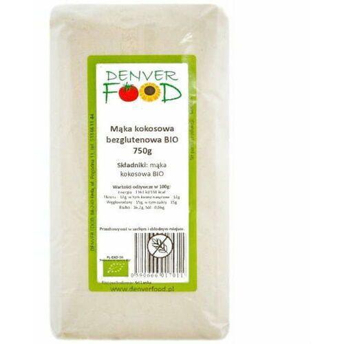 Mąka kokosowa bezglutenowa bio 750 g denver food marki Denver food ul. pogodna 11, 84-240 reda, polska dystrybutor: denver fo