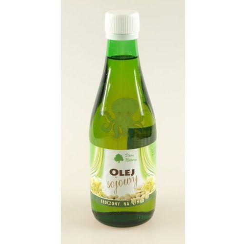 Olej sojowy 300 ml - tłoczony na zimno - Dary Natury (Oleje, oliwy i octy)