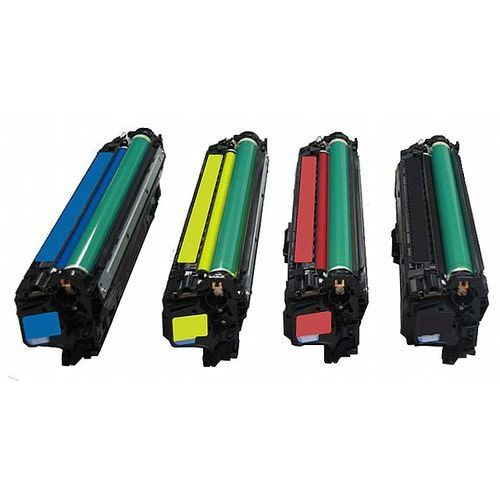 Komplet tonerów zamienników DT322KPLAC do Canon LBP9100 LBP9500 LBP9600, pasuje zamiast Canon CRG322BK CRG322C CRG322M CRG322Y CMYK, 6500/7500 stron