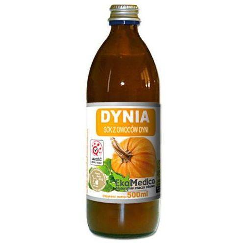 Dynia sok z owoców dyni 500ml marki Ekamedica