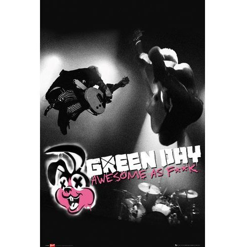 Galeria Green day awesome as fuck - plakat