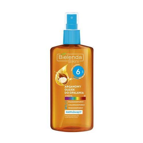 Bielenda Bikini Argan Oil olejek ochronny do opalania w sprayu SPF 6 (Waterproof) 150 ml (5902169020026)