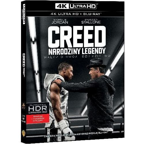 Creed: Narodziny Legendy (4K Ultra HD) (Blu-ray) - Ryan Coogle DARMOWA DOSTAWA KIOSK RUCHU
