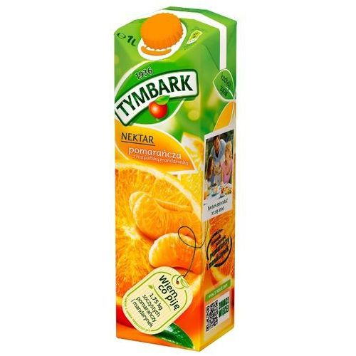 Tymbark 1l nektar pomarańcza z hiszpańską mandarynką