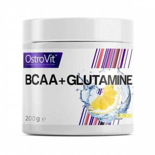 bcaa + glutamine - 200g - lemon marki Ostrovit