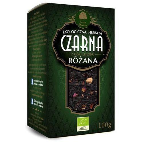 Dary natury - herbatki bio Herbata czarna cejlońska różana liściasta bio 100 g dary natury (5902581616937)