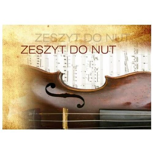 Zeszyt do nut a5 16 kartek marki Nice life