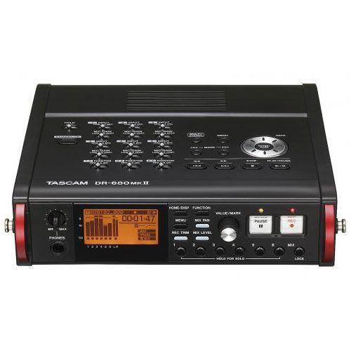 Tascam DR-680 MkII profesjonalny, przenośny system reporterski, zapis na kartach pamięci SD