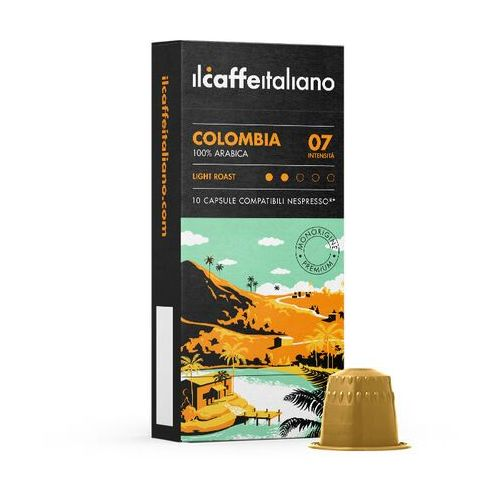 Nespresso kapsułki Colombia 100% arabica il caffe italiano kapsułki do nespresso – 10 kapsułek (0645760334493)