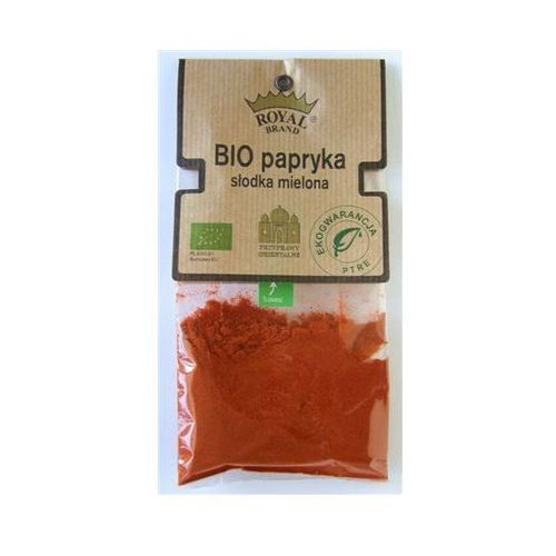 Papryka słodka mielona bio, asta 80/90, 30 g marki Royal brand