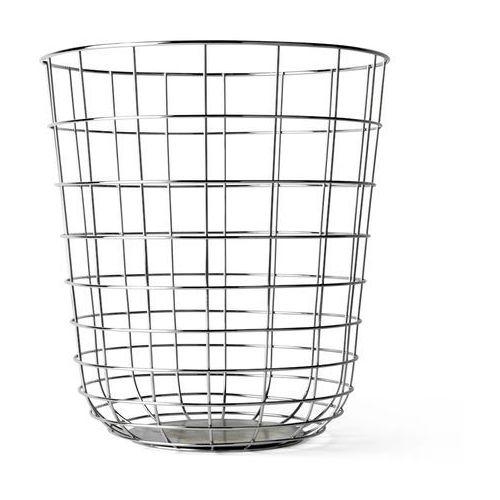 Kosz druciany Menu Wire Bin chrome - oferta [25ceec0fc1d2f382]