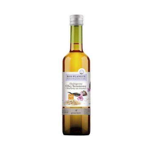 E 500ml olej sezamowy tłoczony na zimno bio marki Bio planet