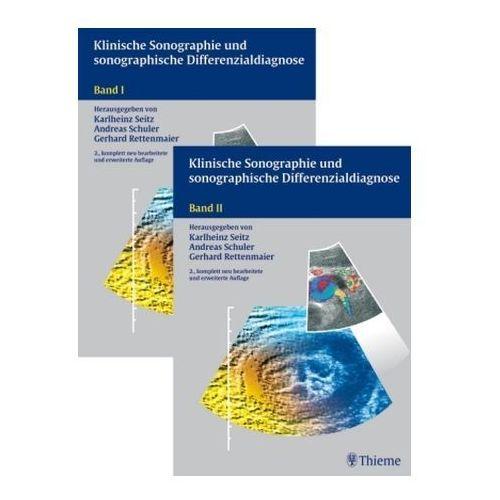 Klinische Sonographie und sonographische Differenzialdiagnose, 2 Bde.
