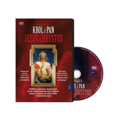 Oratorium król i pan jezus chrystus - książeczka z filmem dvd marki Praca zbiorowa