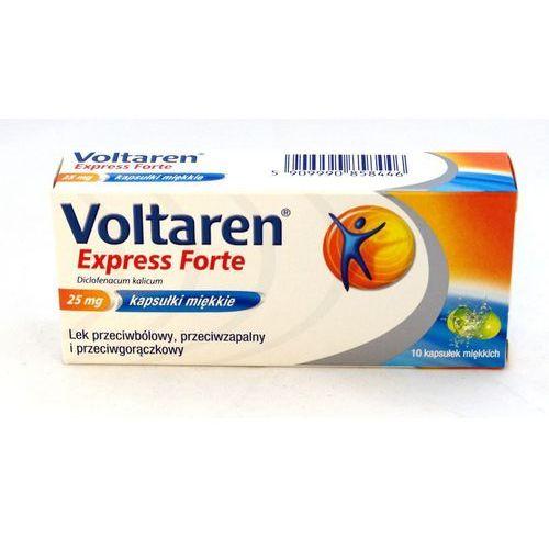 Voltaren Express Forte, 25 mg, kapsułki miękkie, 10 szt - produkt farmaceutyczny