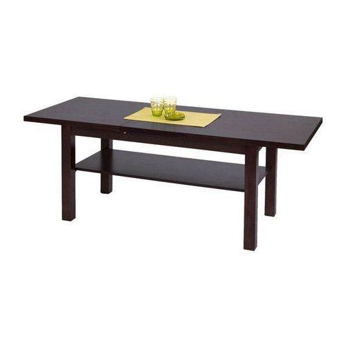 ława KENDRA rozkładana ciemny orzech (stolik i ława do salonu) od e-krzeslo.pl