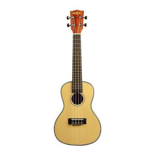 ka scg eq, ukulele koncertowe z pokrowcem marki Kala