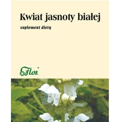 Jasnota biała kwiat 25g marki Flos