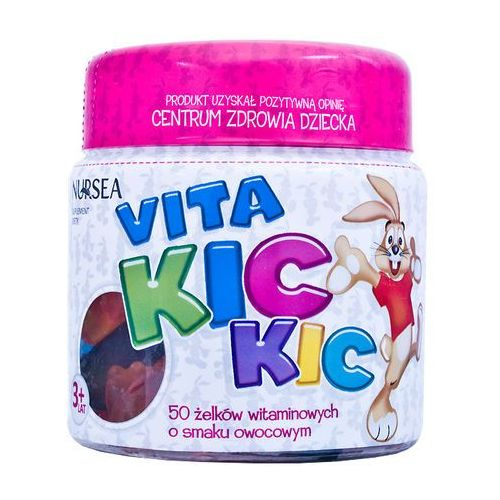 Nursea Vita Kic Kic zelki x 50 (lek Witaminyi minerały)