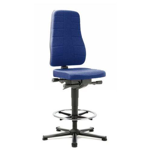 Bimos Obrotowe krzesło do pracy z funkcjami ergonomicznymi, na ślizgaczach i z podpórk