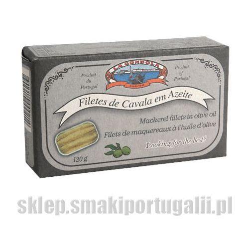 Filety z makreli portugalskich w oliwie 125g marki La gondola