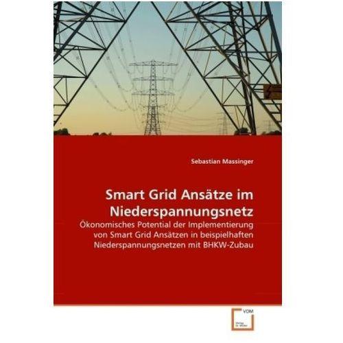 Smart Grid Ansätze im Niederspannungsnetz (9783639321777)