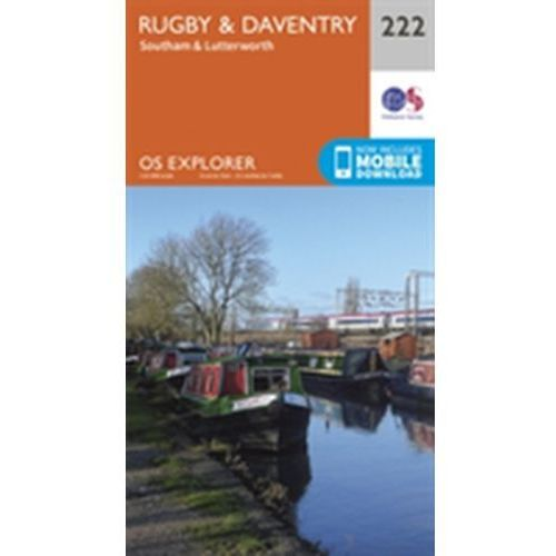 Rugby and Daventry, Southam and Lutterworth Ordnance Survey (9780319244159)