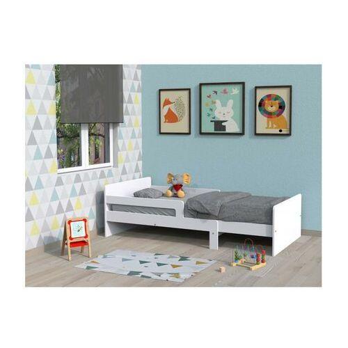 Łóżko rosnące ZELLY - 90 × 140/170/200 cm - Bielony świerk