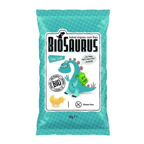 Chrupki kukurydziane z solą morską BEZGL. BIO 50 g, 4306