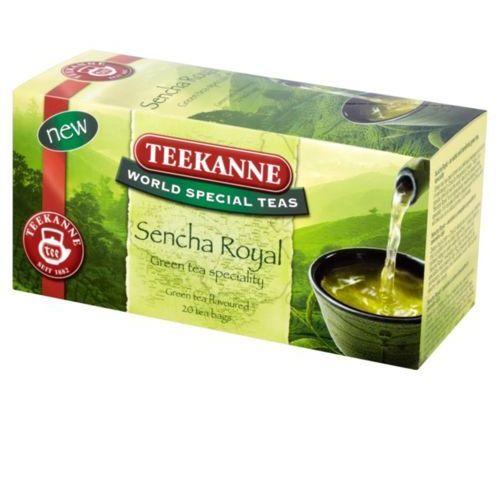 20x1,75g world special teas sencha royal herbata zielona marki Teekanne
