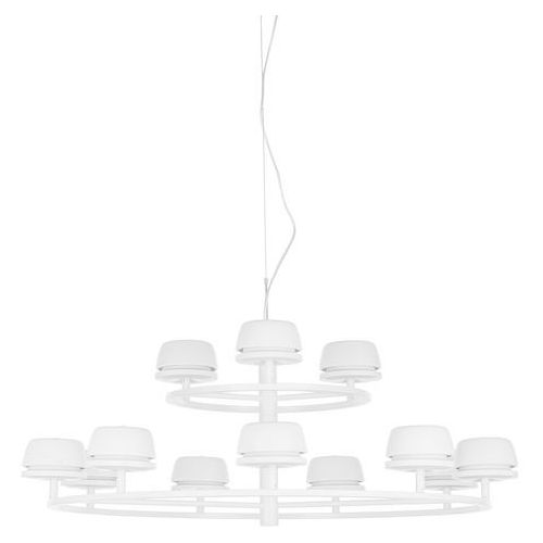 Lampa wisząca Italux Miranda AD16004-12A WH zwis 12x6,23W LED biała (5900644409663)
