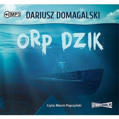 ORP Dzik audiobook, Dariusz Domagalski