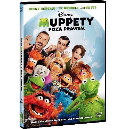 Muppety. Poza prawem (DVD) - Dostawa zamówienia do jednej ze 170 księgarni Matras za DARMO