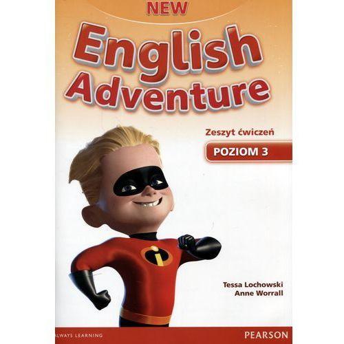New English Adventure 3. Materiał Ćwiczeniowy + CD (Do Wersji Wieloletniej), Tessa Lachowski, Anne Worrall