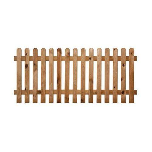Płot sztachetowy 180x60 cm drewniany STELMET (5900886188906)