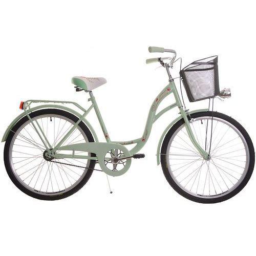 Przykładowy producent Rower miejski 26 Vanessa miętowa (stożki)