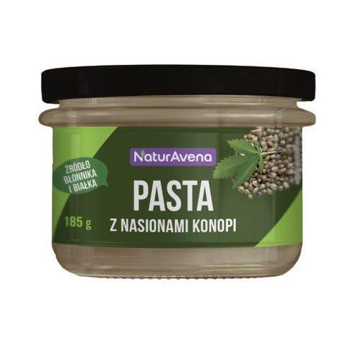 Naturavena 185g pasta z nasionami konopii z ciecierzycy i szpinaku