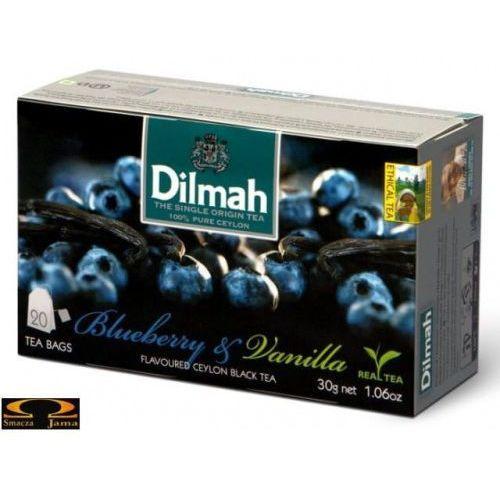 Herbata blueberry & vanilla 20 torebek marki Dilmah
