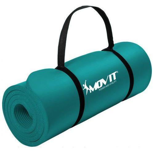 Movit ® Seledynowa mata piankowa 190x60x1,5cm do ćwiczeń / gimnastyki / fitness - seledynowy / 190x60x1,5 cm (20040382)