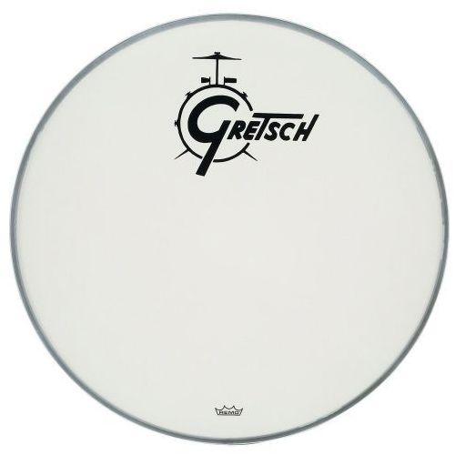 naciąg do bębna basowego ambassador biały powlekany 22′′ marki Gretsch