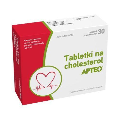 Tabletki na cholesterol apteo x 30 tabletek marki Synoptis pharma