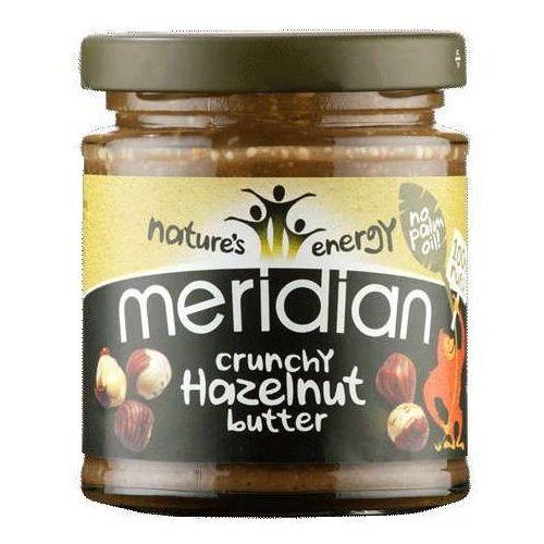Chrupiące masło z orzechów laskowych 170g marki Meridian foods