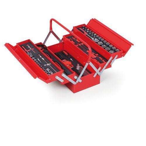 Skrzynka na narzędzia z wyposażeniem, 209x450x200mm