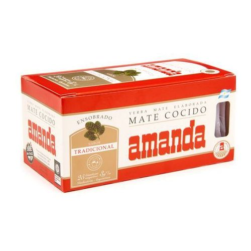 Yerba Mate Amanda klasyczna 25 saszetek po 3 g