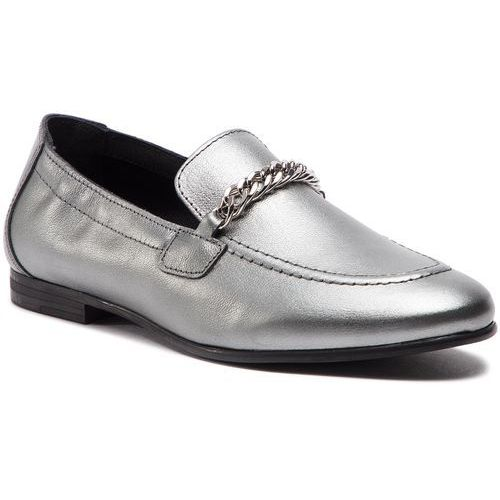 Lordsy - rubberized chain heeled sandal fw0fw03891 light silver 016, Tommy hilfiger, 36-40