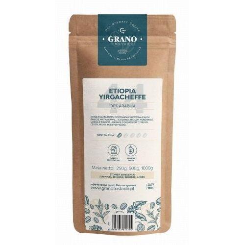 Grano tostado kawa ziarnista grano tostado etiopia yirgacheffe 1000g (5908233612302)