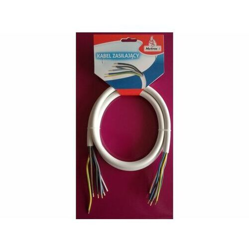Kabel zasilający 5x2,5 dł. 1,5m