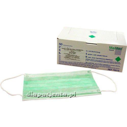 Maimed - maska chirurgiczna medyczna jednorazowa - na gumce - 1szt.