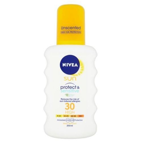 Nivea spray spf 30 sun (pure & spray´u, sun) 200 ml