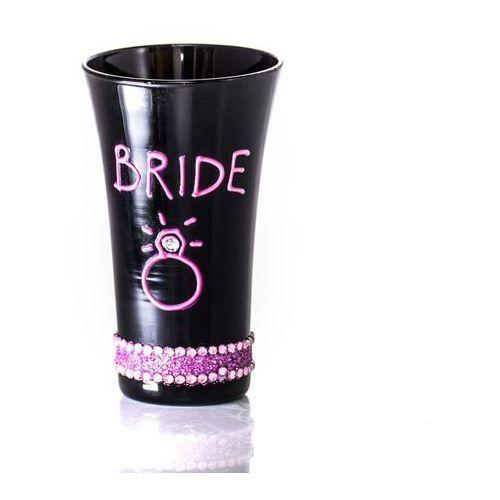 """Kieliszek z napisem """"bride"""" do wódki"""